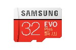 Samsung 32GB micro SD Card EVO+ with Adapter, Class10, Read 95MB/s - Write 20MB/s