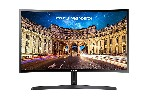 "Monitor Samsung C24F396F Curved 23.5"" LED, Full HD (1920x1080), Brightness: 250cd/m2, Contrast: 3000:1, Response time: 4ms, Viewing Angle: 178°/178° , D-SUB, HDMI,  Black"