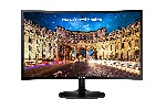 "Monitor Samsung C27F390F Curved 27"" LED, Full HD (1920x1080), Brightness: 250cd/m2, Contrast: 3000:1, Response time: 4ms, Viewing Angle: 178°/178° , D-SUB, HDMI,  Black"