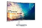 "Monitor Samsung C27F591F Curved 27"" LED, Full HD (1920x1080), Brightness: 250cd/m2, Contrast: 3000:1, Response time: 4ms, Viewing Angle: 178°/178° , D-SUB, HDMI, DP, Speakers, Silver"