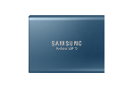 Portable SSD Samsung T5 Series, 500 GB 3D V-NAND Flash, Slim, USB type-C , Metal Blue