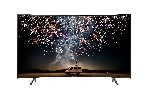 """Samsung Smart Curved TV 49"""" 49RU7372 4k UHD LED, 3840 x 2160, 1500 PQI, HDR 10+, Dolby Digital Plus, DVB-T2CS2, PIP, 3xHDMI, 2xUSB, LAN, Wireless, Bluetooth Audio, Bixby, Charcoal Black"""
